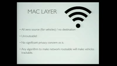 Privacy and the Car of the Future