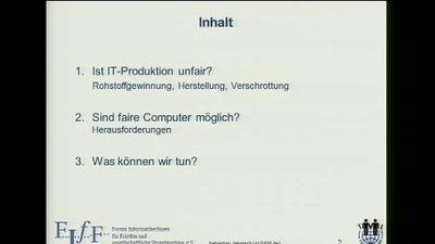 Sind faire Computer möglich?