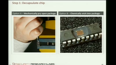 Low-Cost Chip Microprobing