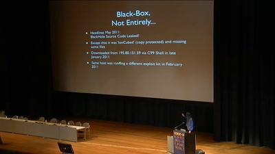 Analytical Summary of the BlackHole Exploit Kit