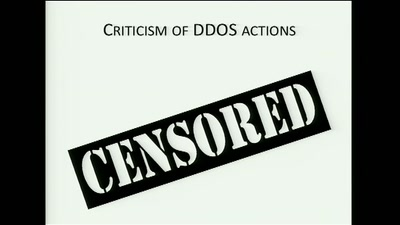 The Ethics of Activist DDOS Actions