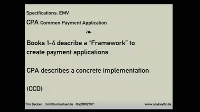 A Rambling Walk Through an EMV Transaction