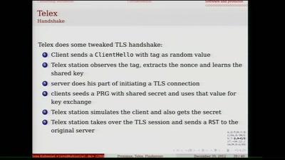 Proximax, Telex, Flashproxy oder Tor Bridges