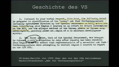 Best of ... Verfassungsschutz