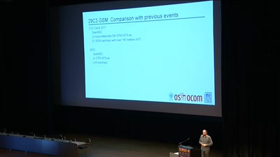 29C3 GSM: Cell phone network review