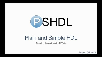 Programming FPGAs with PSHDL