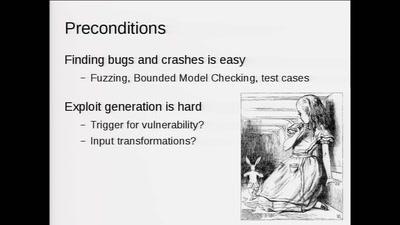 Triggering Deep Vulnerabilities Using Symbolic Execution
