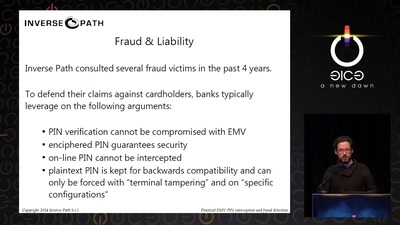 Practical EMV PIN interception and fraud detection