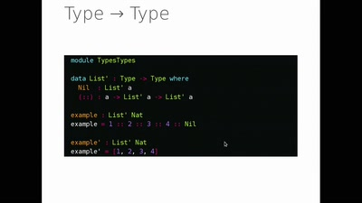 Programming with dependent types in Idris