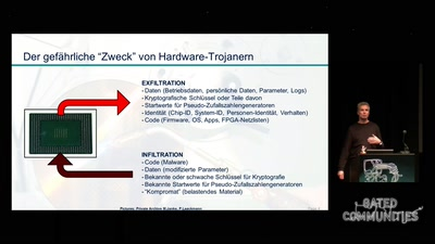 Hardware-Trojaner in Security-Chips