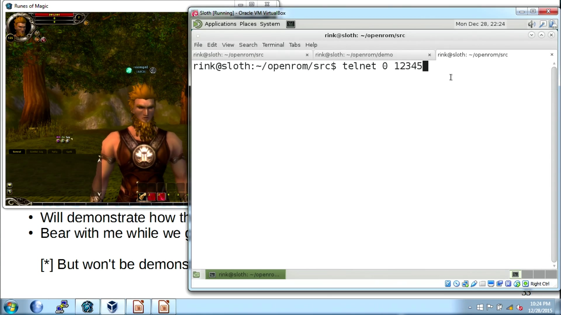 media ccc de - How hackers grind an MMORPG: by taking it apart!