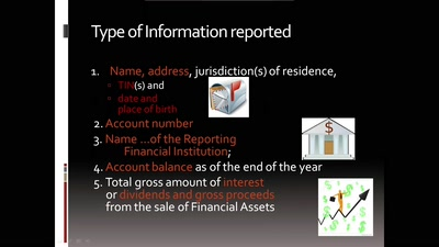 International exchange of tax information