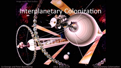 Interplanetary Colonization