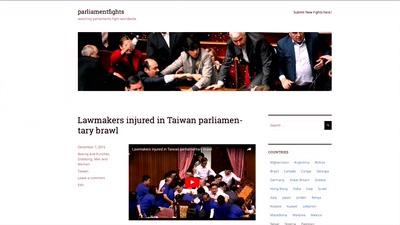 Eine kleine Geschichte der Parlamentsschlägerei