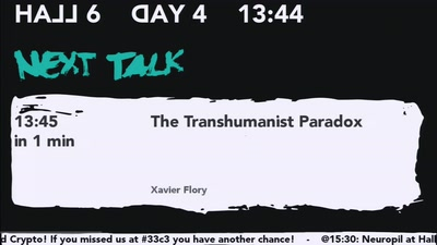The Transhumanist Paradox