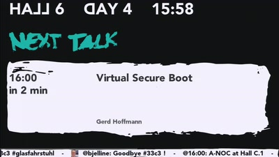 Virtual Secure Boot