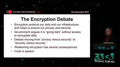 The Fight for Encryption in 2016