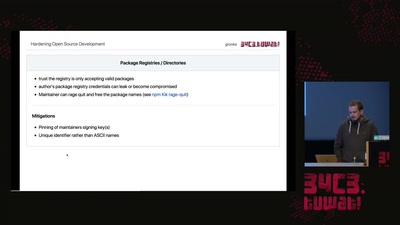 Hardening Open Source Development