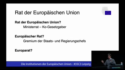 Die EU und ihre Institutionen