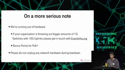 35C3 Infrastructure Review
