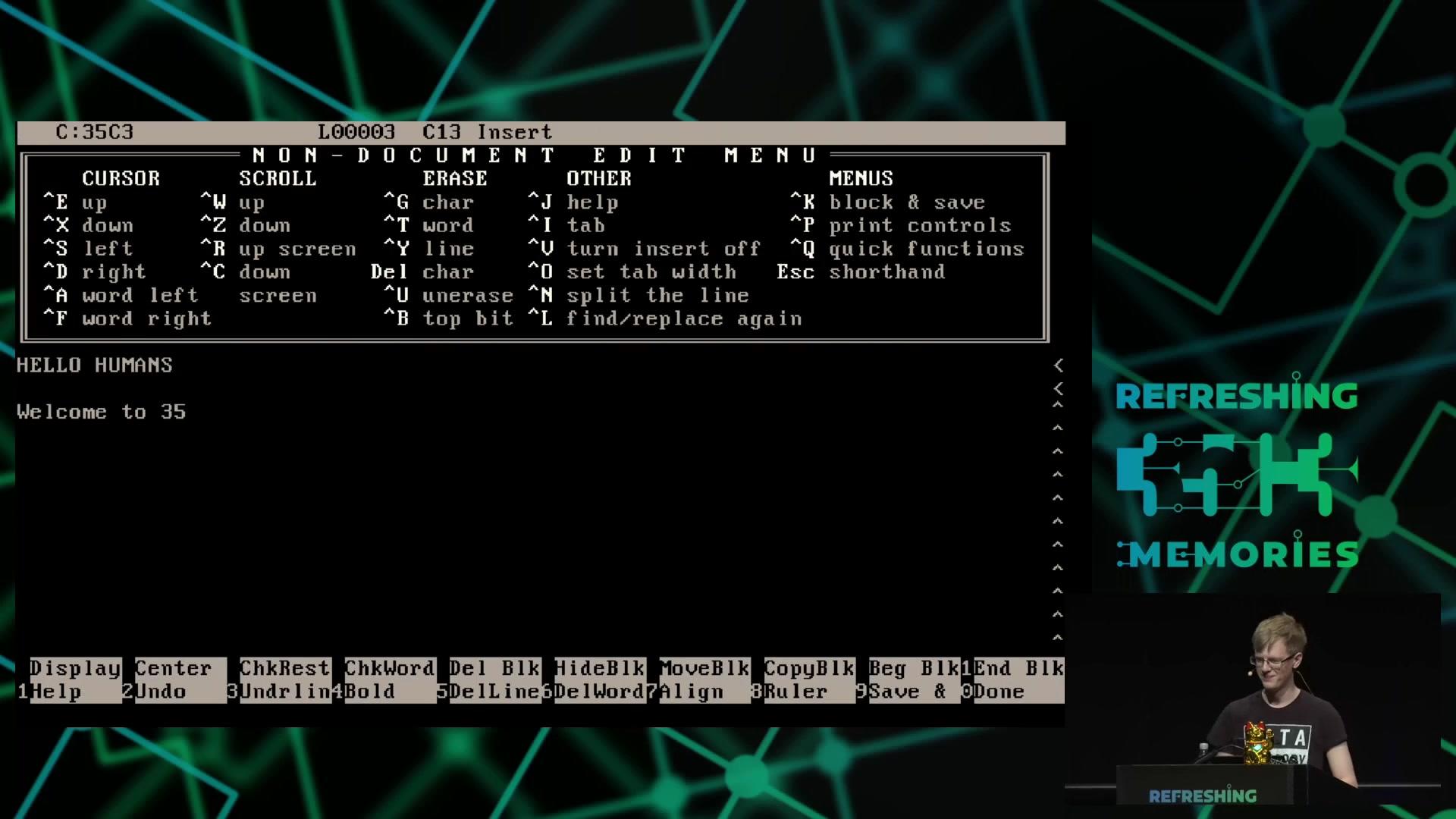 media ccc de - A deep dive into the world of DOS viruses