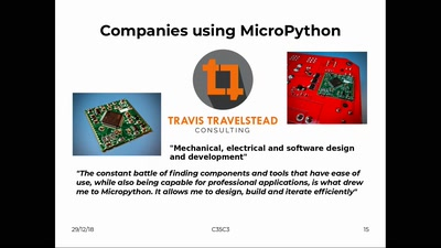 MicroPython – Python for Microcontrollers
