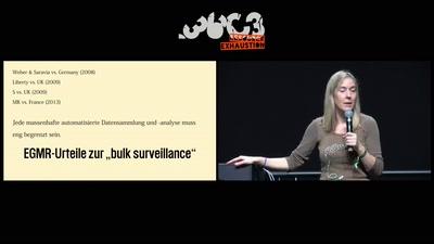 Geheimdienstliche Massenüberwachung vs. Menschenrechte