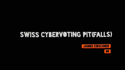 Swiss Cybervoting PIT(falls)