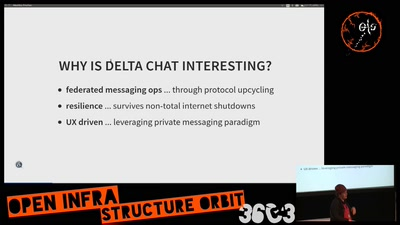 Delta Chat: e-mail based messaging, the Rustocalypse and UX driven approach [YBTI/wefixthenet session]