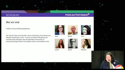 Podcastpat_innen präsentieren: Podcast-Formate