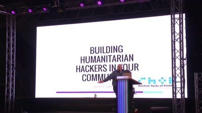 Building Humanitarian hackers in your communities - How to