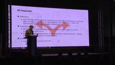 Privacy Design Strategies