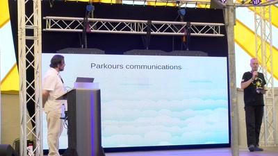 Parkour communications