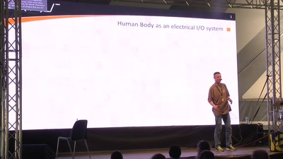 Human body as an electric IO system