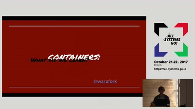 Containers: What Did We Learn?