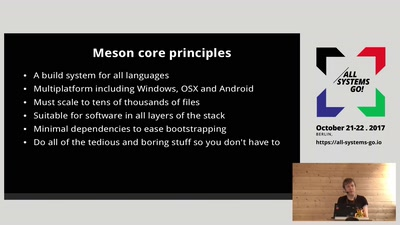 Meson and the changing Linux build landscape