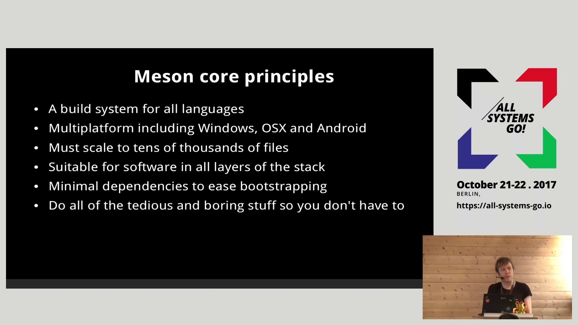 media ccc de - Meson and the changing Linux build landscape