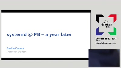 systemd @ Facebook — a year later