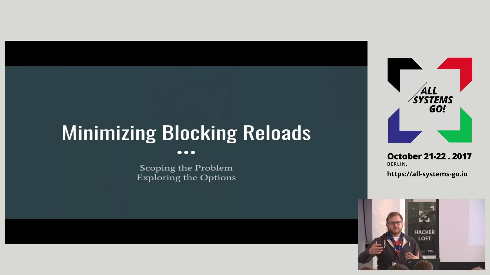 media ccc de - Unbreaking reloads: strategies for fast and