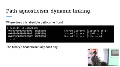 Path-agnostic binaries, co-installable libraries, and How To Have Nice Things