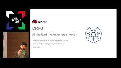 CRI-O: All the Runtime Kubernetes need