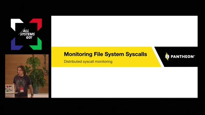 Monitoring File System Syscalls in a Distributed Architecture