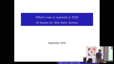 systemd in 2018