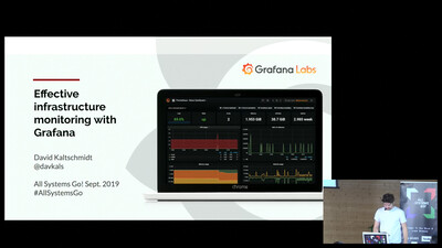 Effective infrastructure monitoring with Grafana