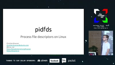 pidfds: Process file descriptors on Linux