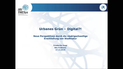 Urbanes Grün - Digital?!