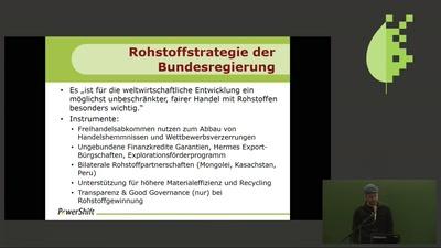 Rohstoffpolitik für Zukunftstechnologien?