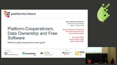 Platform-Cooperativism, data ownership and free software