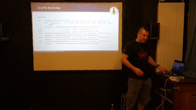 OpenPGP Keys anstarren