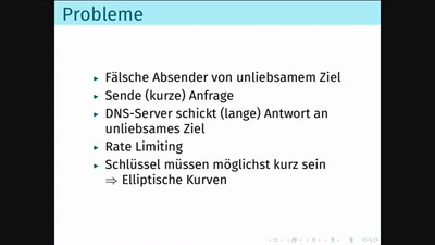 DNS vs. Sicherheit: the long story